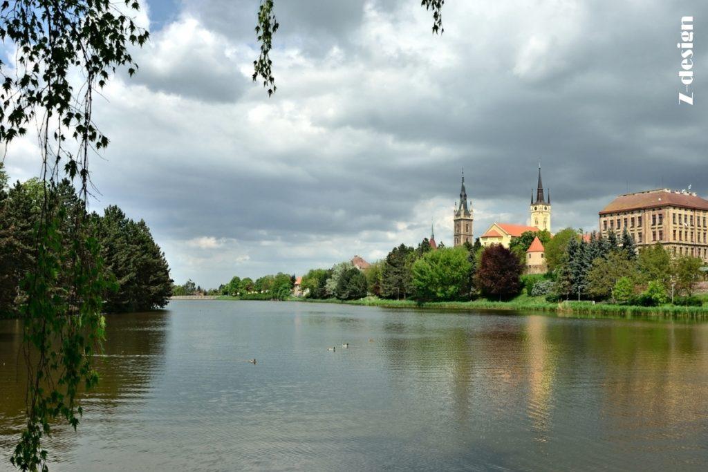 Čáslav, postcard